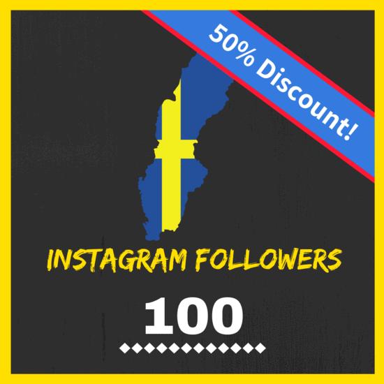 Buy Swedish Instagram followers
